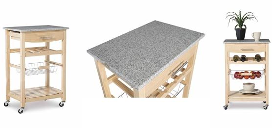 Linon Kitchen Island Granite Top Lowest Price Jungle Deals Blog