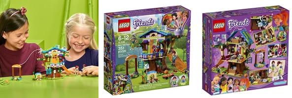 Lego Friends Mias Tree House 351 Pieces Lowest Price Jungle