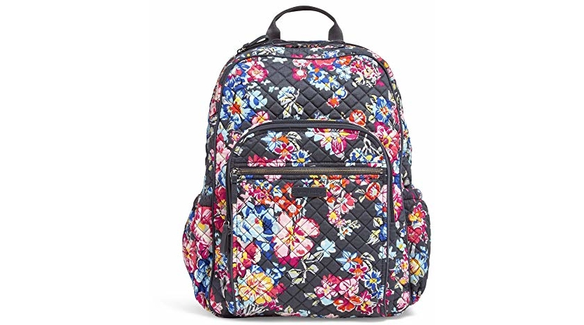 972f46dd14a Amazon has an awesome deal you can score on this very incredibly beautiful Vera  Bradley Iconic Campus Backpack, Signature Cotton, Pretty Posies for $67.89  ...