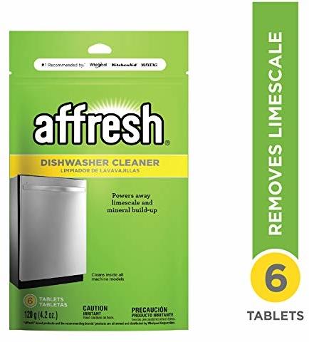 Affresh Dishwasher Cleaner, Yellow