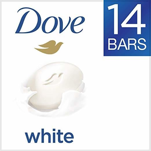 Dove White Beauty Bar 4 oz, 14 Bar
