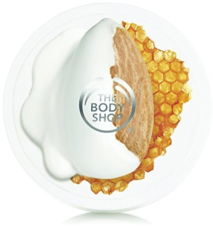 The Body Shop Almond Milk and Honey Body Butter, for Sensitive, Dry Skin, 1.7 Ounce (Pack of 1)