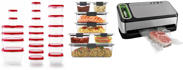 Save on Food Prep with Rubbermaid and Foodsaver