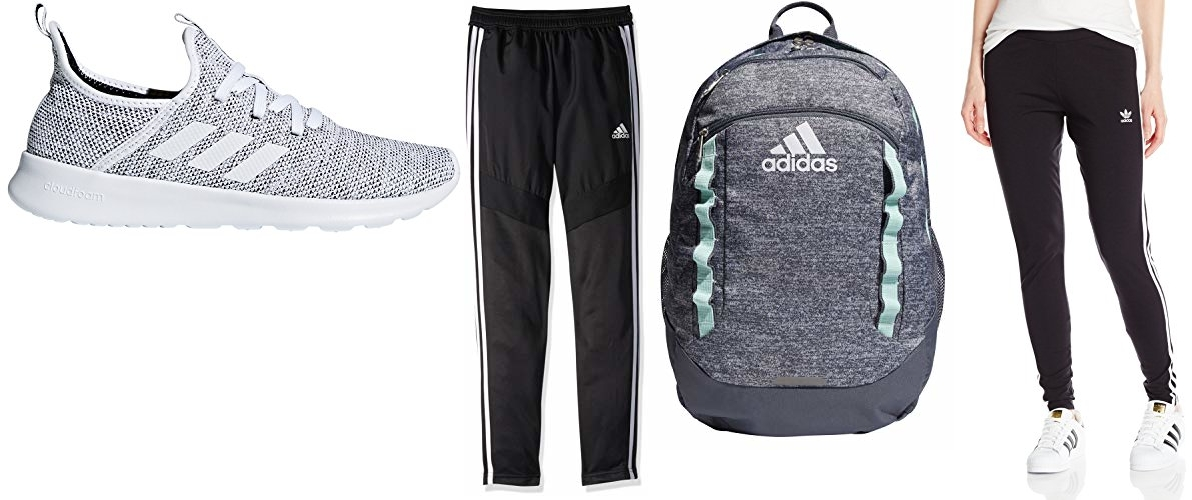 Save up to 40% on select adidas apparel, shoes and accessories