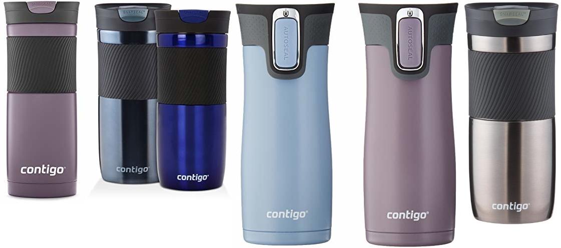 Save on Contigo Water Bottles and Mugs