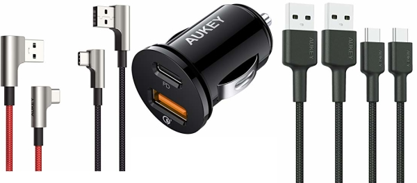 Save up to 40% on AUKEY Headphones, Chargers and Power Banks
