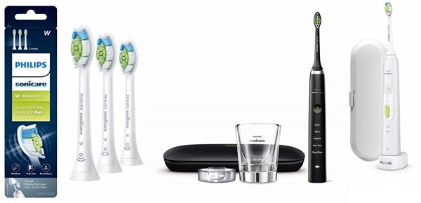 Save up to 45% on Philips Sonicare appliances & brush heads