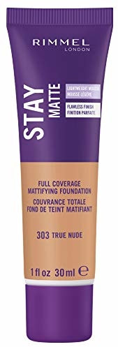 Rimmel Stay Matte Foundation, True Nude (2-Pack)