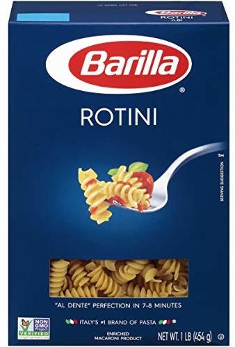Barilla Pasta, Rotini, 16 Ounce (Pack of 12)