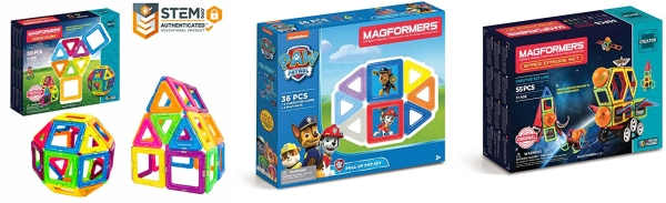 Educational  Magnetic    Tiles Kit Magformers My First Pastel Magnetic    Construction  STEM toddler Toy Set Toy of the year Construction  finalist 2018 Magnetic    Building      Blocks 30 Piece