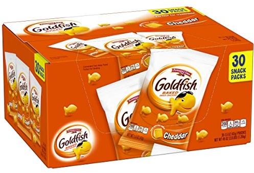 Pepperidge Farm Goldfish Cheddar Crackers, 45 Ounce