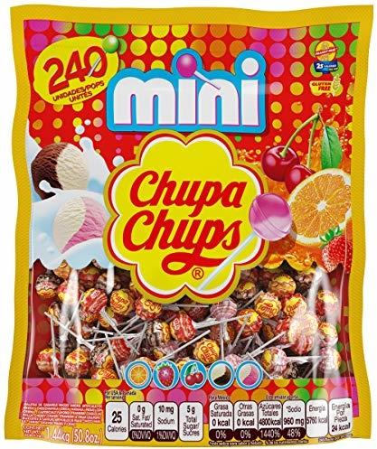Chupa Chups Mini Lollipops 240ct Bag, Party Size, 50.8 Ounce