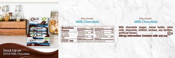 100 Calories Milk Chocolate Candy Bar