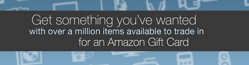 Trade in Items for Amazon Gift Cards