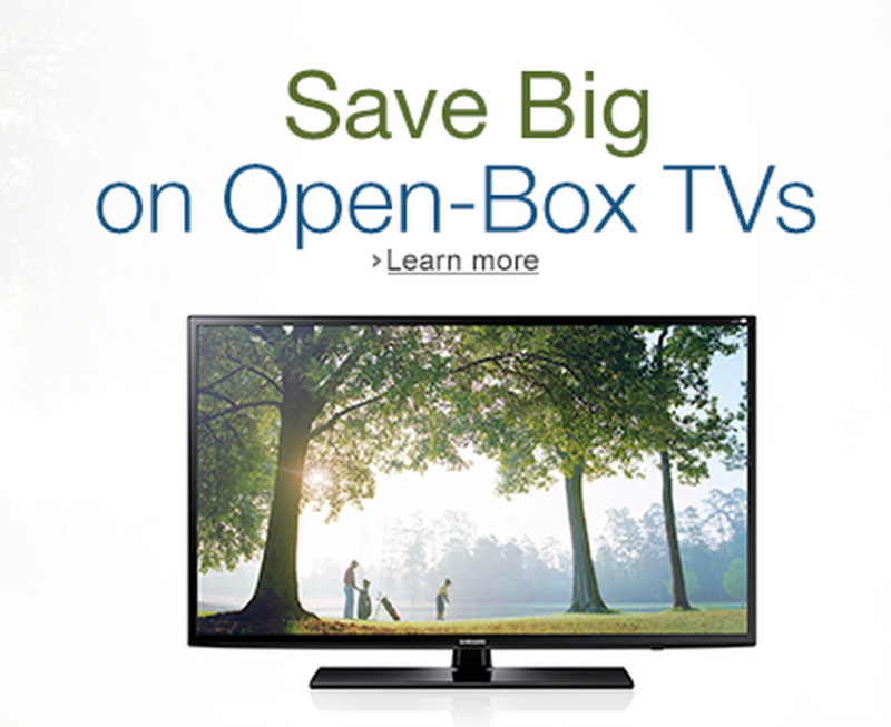 Today's HDTVs come in all shapes and price points, but if you're looking to save a few extra bucks, nothing beats buying an open-box TV. Oftentimes, these TVs are purchased and returned within days.