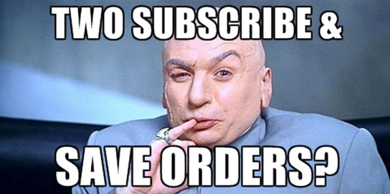 Amazon Hack: Two Subscribe & Save Boxes in a Month!