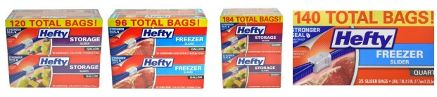 *HOT* Extra 15% Off Hefty Storage Bags = GREAT Prices!