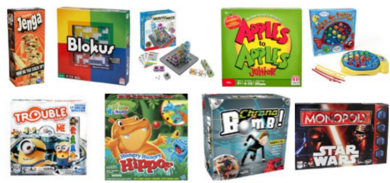 Amazon Board Games -- Buy 2 or 3, Get 1 free!