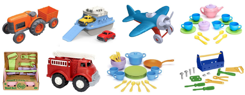 Green Toys: Buy One Get One 50% Off!