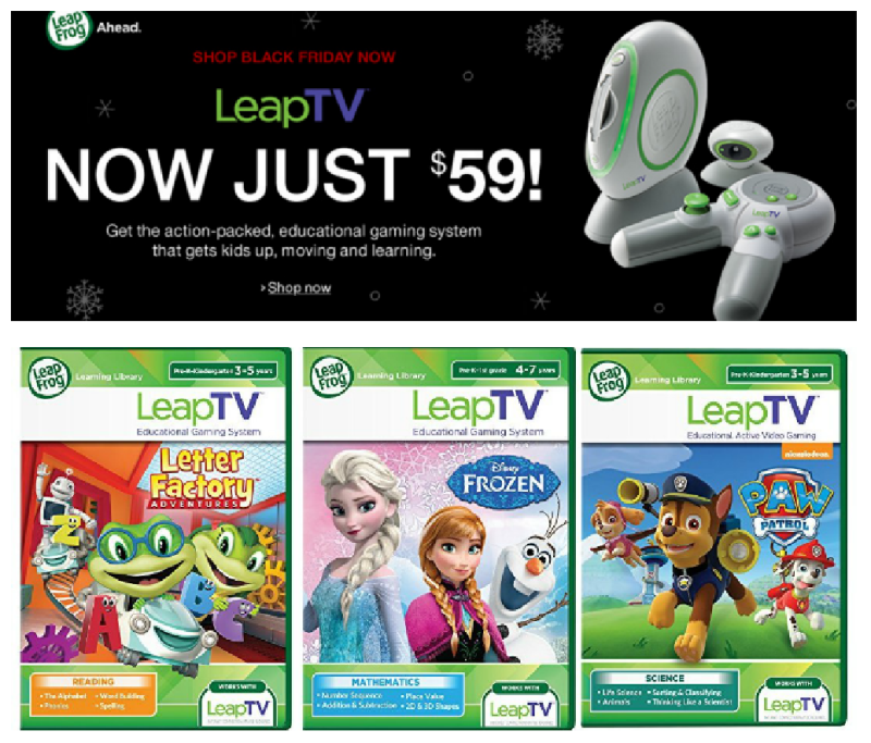 Amazon Black Deals: Buy a LeapTV Gaming System, Get a Free Select LeapTV Game!