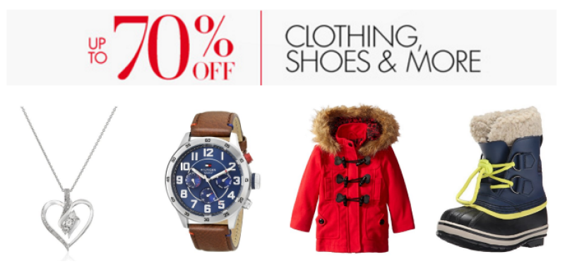 Up to 70% Clothing Shoes & More
