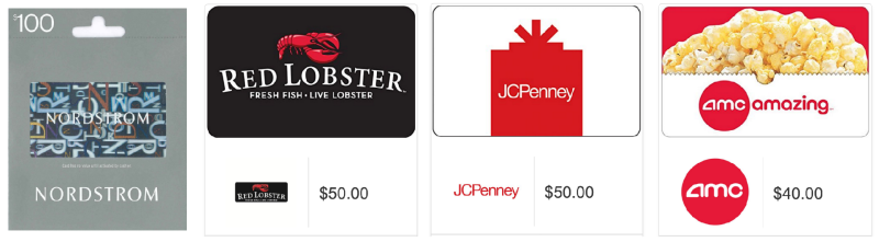 *HOT!* Amazon Cyber Monday: Deals on Gift Cards!