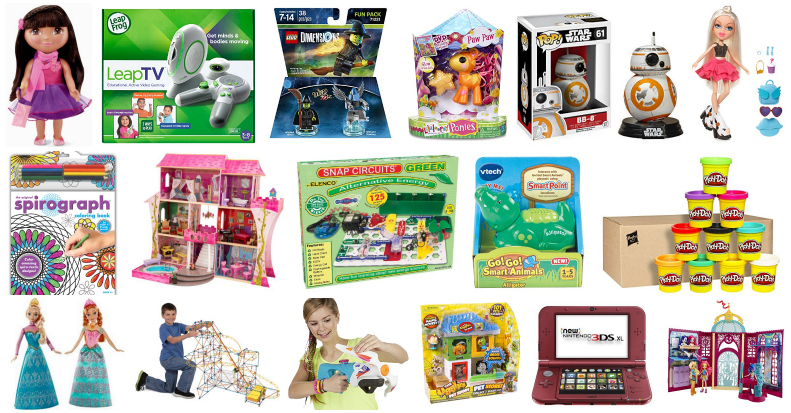 Amazon BEST Holiday Toy Deals 2015, Updated Dec 15th!