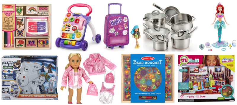 Lightning Deals on Toys Starting Soon -- vTech, Mellissa & Doug and More, Act Fast when Live!