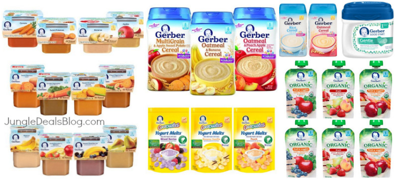 *HOT* Up to 50% Off One Gerber Baby Product!