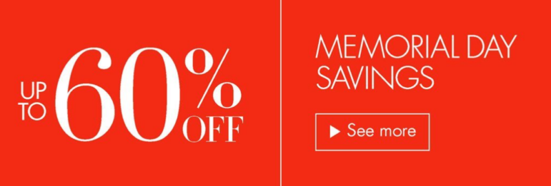 Memorial Day Weekend Amazon Fashion Sale -- Save Up to 60% Off Clothing, Shoes & More!