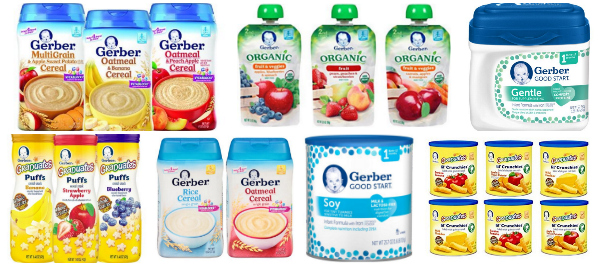 35% Coupon + 15% Subscribe & Save = Up to 50% Off Gerber Snacks!