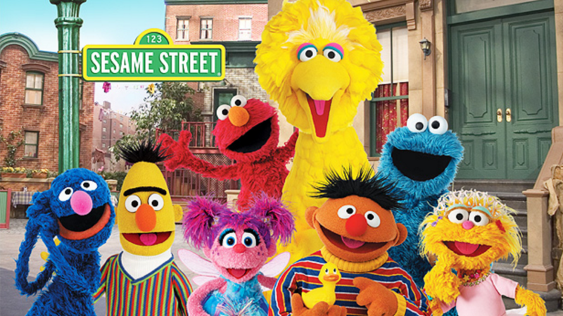 Buy Select Sesame Street Seasons for FREE!