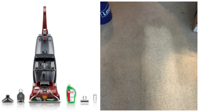 Hoover FH50150 Carpet Basics Power Scrub Deluxe Carpet Cleaner -- A GREAT Buy!