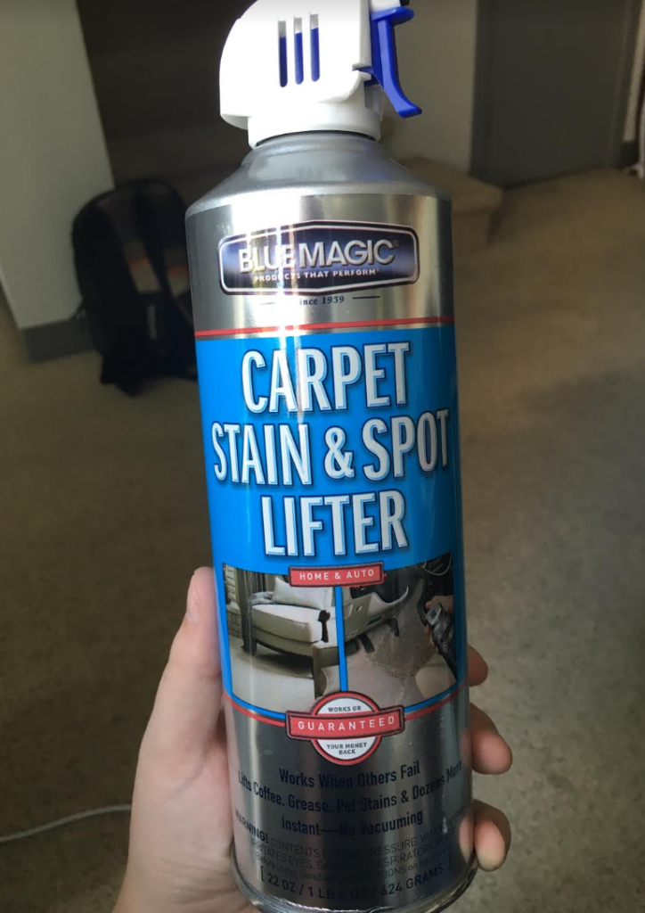 Huge Can Of Bluemagic 900 Carpet Stain Amp Spot Lifter 22