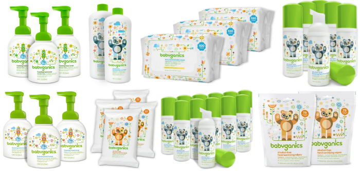 NEW 35% Off Coupons = Up to 50% Off Babyganics Baby Wipes & More!