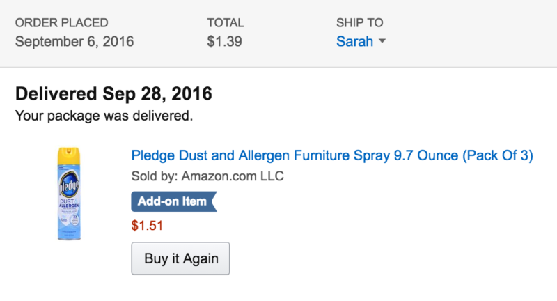 Pledge Dust and Allergen Furniture Spray 9.7 Ounce (Pack Of 3)
