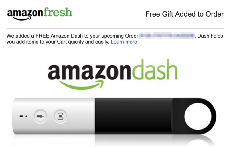 Further Proof that Amazon's Dash Service Sucks