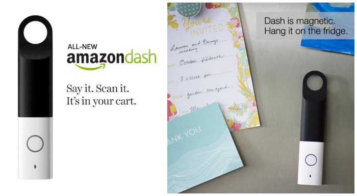 Generation 2 Amazon Dash