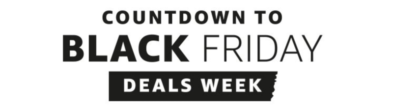 "Amazon Launches ""Countdown to Black Friday Deals Week"""