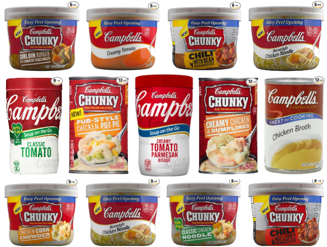 *HOT* Up to 50% Off Select Campbell's Soups, Spaghetti & More!