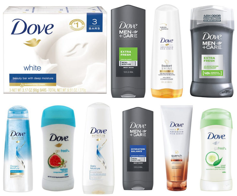 *HOT* Lots of Dove Products Under $3 Shipped with Coupons and S&S!