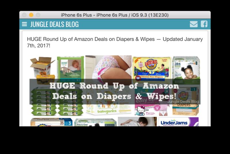 Jungle Deals Blog Updates: Focussing on Mobile!