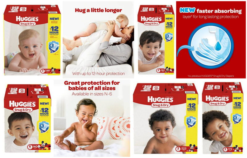 Price Drops on Huggies Diapers = One Month Packs Under $20 Shipped!