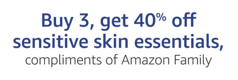 Buy 3, Get 40% Off on Select Skin Care Products -- Including Baby Wipes!