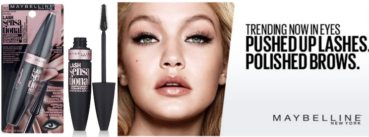 d407df3e9ec Maybelline New York Lash Sensational Luscious Washable Mascara, Brownish  Black, 0.32 Fluid Ounce as