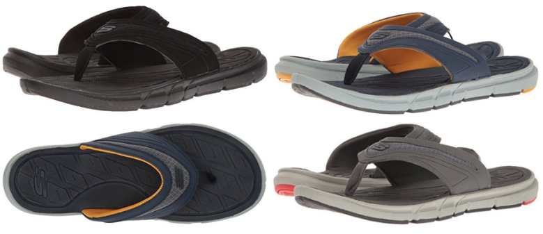 Skechers Sport Men's Thong with Memory Foam Flip Flops Under $20 Shipped (reg. $40)