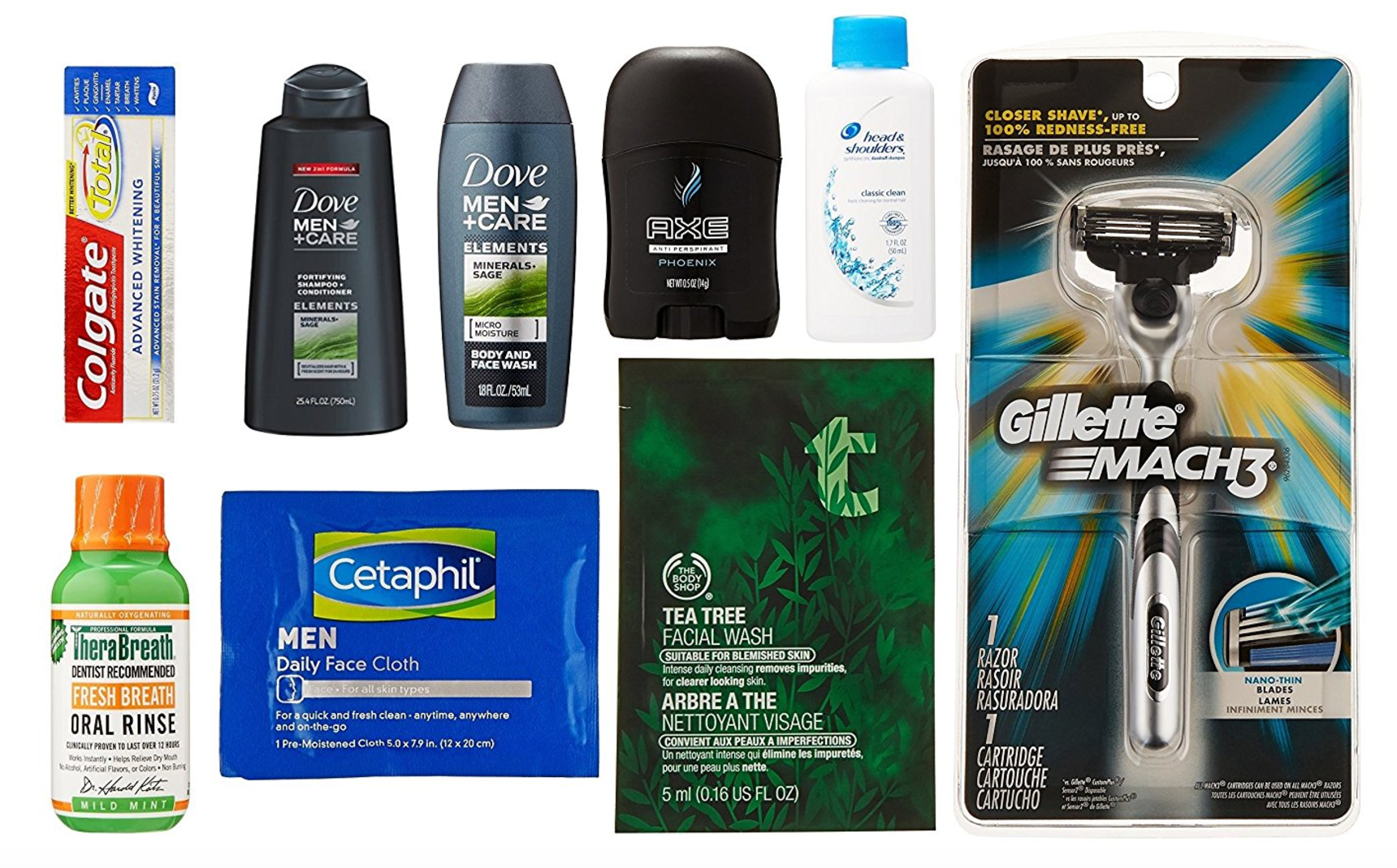 *HOT HOT HOT* Men's Grooming Sample Box, 8 or more items -- FREE After $9.99 Credit!