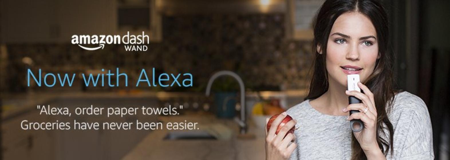 Buy a $20 Amazon Dash Scanner, Get $20 Credit + 90 Days FREE Amazon Fresh (reg. $14.99/month)!