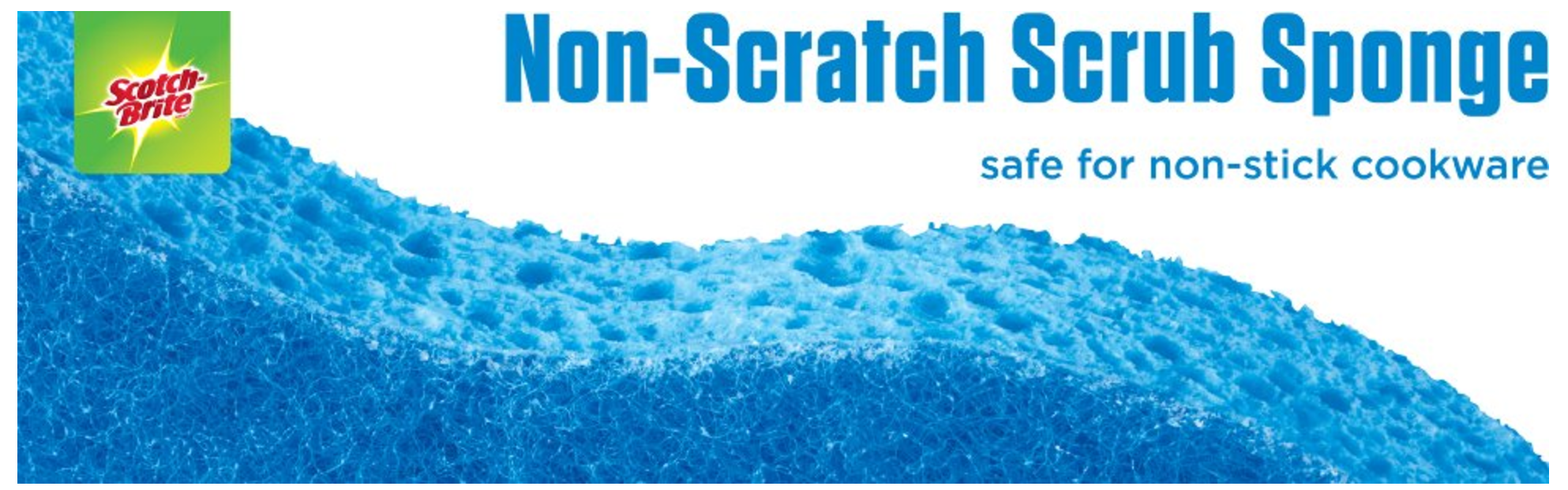 *WILL SELL OUT* Scotch-Brite Non-scratch Scrub Sponge, 3 Count (Pack of 8) as low as $9.04 shipped!