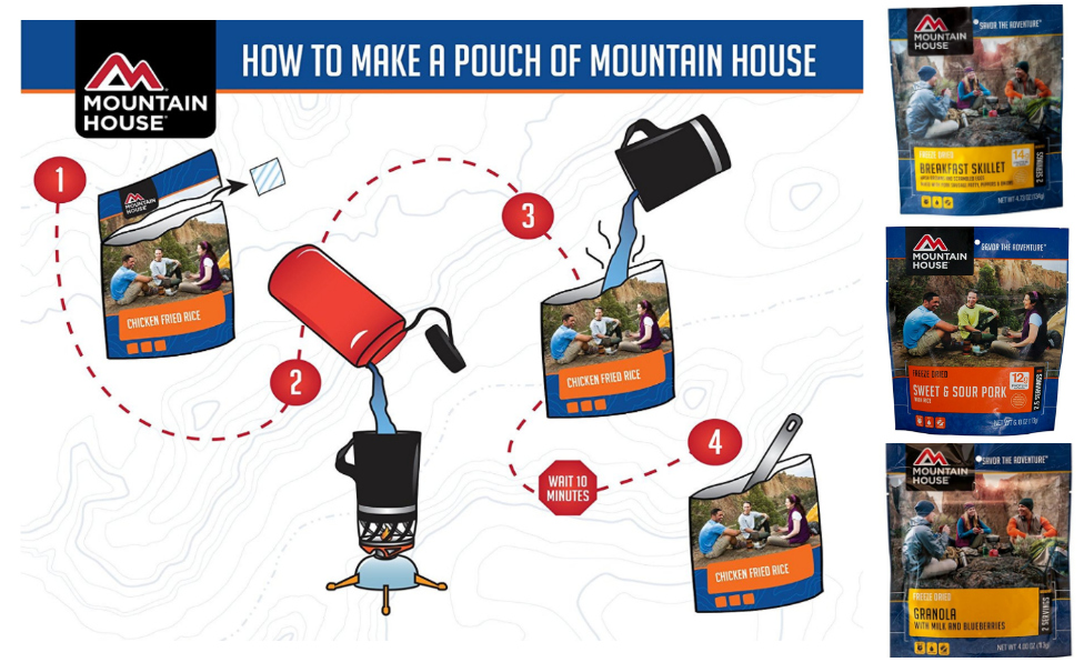 *FREE After Rebate* Mountain House Food Pouches!